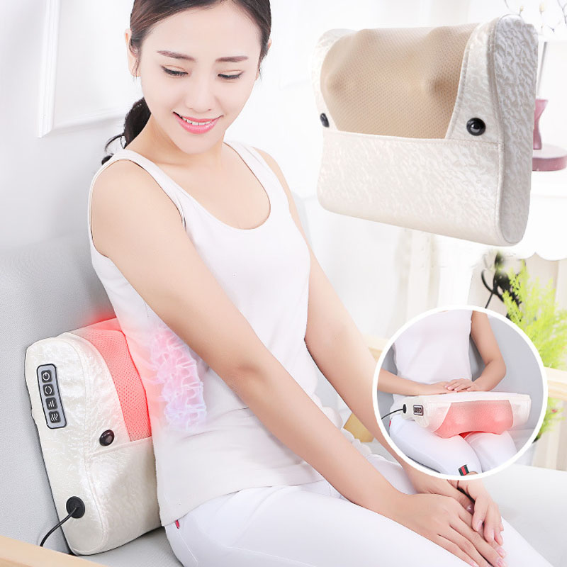 Cervical Massager Neck Shoulder Neck Waist Massage Pad Instrument Home Multifunction Full Body Massage PillowCervical Massager Neck Shoulder Neck Waist Massage Pad Instrument Home Multifunction Full Body Massage Pillow