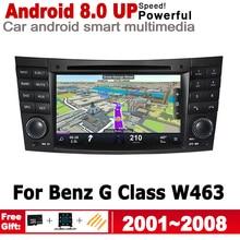 For Mercedes Benz G Class W463 2001~2008 NTG Car Multimedia player Android GPS 2 Din Autoradio Stereo System Navigation Map wifi seicane car optical fiber decoder most box bose for 2001 2008 mercedes benz g class w463 g550 g500 harmon kardon audio converter