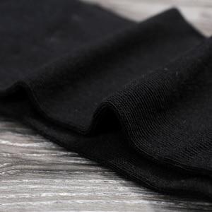 Image 5 - Emilback marca Clássico 5 PRS/Lote Black Dress Negócios meias de Algodão para Homens & Mulheres 200N malha de Alta Qualidade macio e confortável
