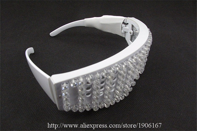 Red led luminous party glasses10