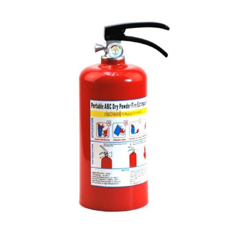 Creative Fire Extinguisher Piggy Bank Money Saving Cash Plastic Saving Box Kid Gift Toy Ornament Safe