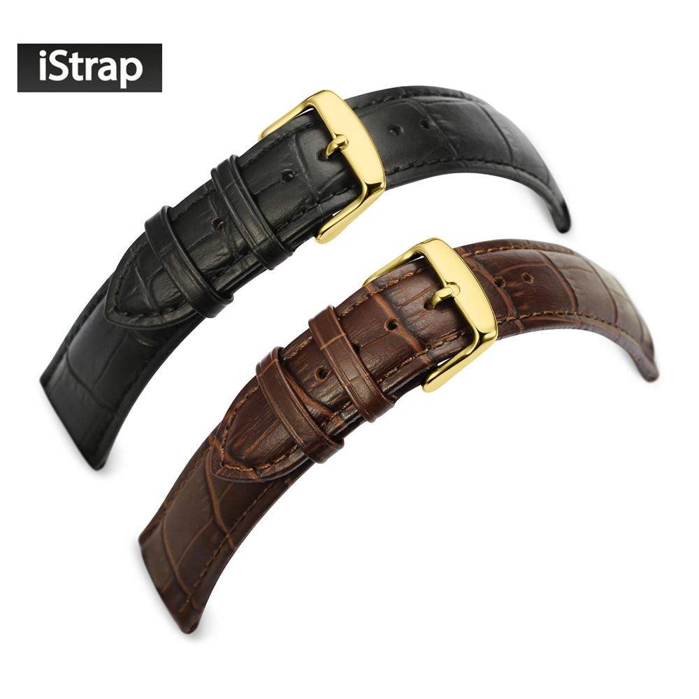 12 13 14 16 18 19 20 21 22 24mm Nero brown pelle di vitello cuoio genuino cinturino cinturino pin fibbia cinturino per omega breitling