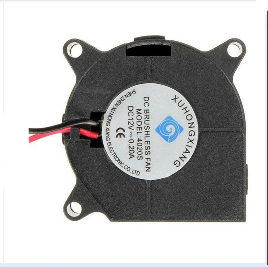 DuoWeiSi 3D Printer Parts 4cm turbine fan 5/12/24V DC Blow Radial Cooling Fan For RepRap 3D Printer Hotend Extruder 4020 40*20mm maitech dc 12 v 0 1a cooling fan red silver