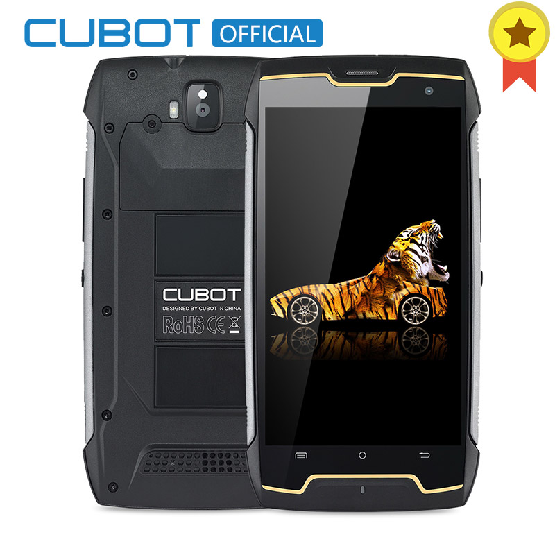 "Cubot KingKong 4400mAh IP68 Waterproof Dustproof Shockproof MT6580 Quad Core 5.0""Android 7.0 Cellular 2G RAM 16G ROM Smartphone"