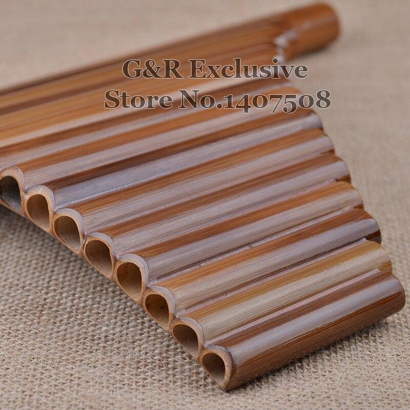 Professional pan fleyta 15 boru elementi Woodwind Flauta G açar - Musiqi alətləri - Fotoqrafiya 2