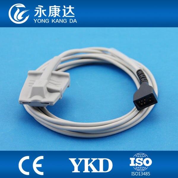 Nonin Direct Reusable Spo2 sensor , Adult finger clip spo2 probe ,7 pin,3MNonin Direct Reusable Spo2 sensor , Adult finger clip spo2 probe ,7 pin,3M