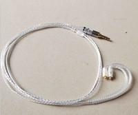 High purity silver TF10 ie8 ie80 se535 se425 earphone upgrade cable