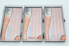 3 Bandeja Onda Navina Pro 0.15D (8/10/12 MM) Natural Cílios Postiços Falsos Eye Lashes Extensão Maquiagem Tool Macio para a Beleza Dos Olhos