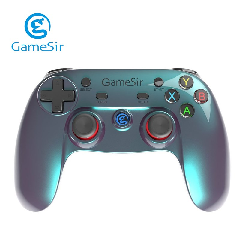 Gamesir Bluetooth Wireless Controller Gamepad For Andriod Mobile Phone TV Box Tablet PC Games for windows PS3 Joystick