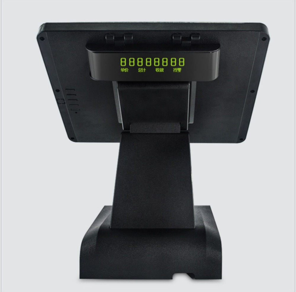 15 Inch Pos System All In One Touch Screen PC with MSR/WIFI/VFD 15 Inch Pos System All In One Touch Screen PC with MSR/WIFI/VFD