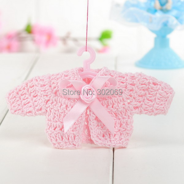 New Fashion Baby Shower Favor Mini Crochet Dress Baby Shower Favors Baby  Shower Gift 12pcs