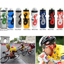 VILEAD My Portable Plastic Outdoor 650ml Mountain Bike Bicycle Cycling Sport Water Bottle Leak-proof Space Bottle with Straw Lid