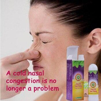 3PCS Gold Tower Allergic Rhinitis Nasal Psychic Cold Headache Congestion On Wake Bar Mint Rhinitis Cream Rhinitis Medicine