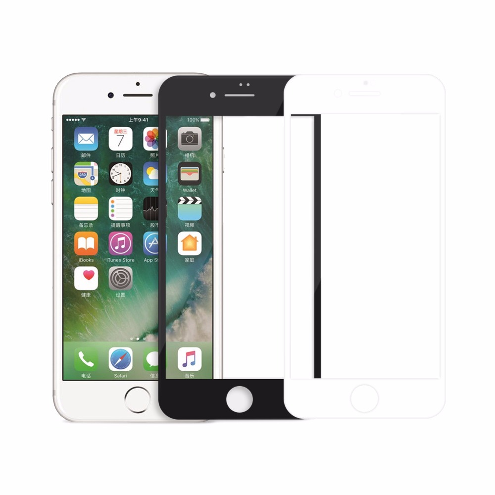 Fully cover For <font><b>iphone</b></font> 7 screen protector Anti-Explosion Tempered Glass Screen Protector For iphone7 glass (4.7 inch)