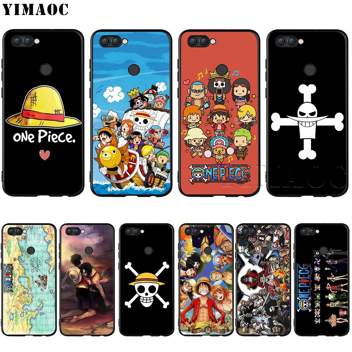 Half-wrapped Case For Huawei P20 P30 Mate 20 Lite Y5 Y6 Prime 2018 P Smart Y7 Pro 2019 Case Cartoon Silicon Cover For Huawei Honor 8a 8x 7a 7c Pro