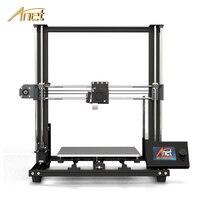 2019 Новый Anet A8 Плюс обновление 3D принтеры комплект плюс Размеры 300*300*350 мм Высокая точность металлический натольный 3D принтеры DIY impressora 3d