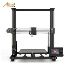 цена на 2019 New Anet A8 plus Upgrade 3D Printer Kit Plus Size 300*300*350mm High Precision Metal Desktop 3D Printer DIY Impresora 3D