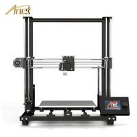 2019 New Anet A8 plus Upgrade 3D Printer Kit Plus Size 300*300*350mm High Precision Metal Desktop 3D Printer DIY Impresora 3D