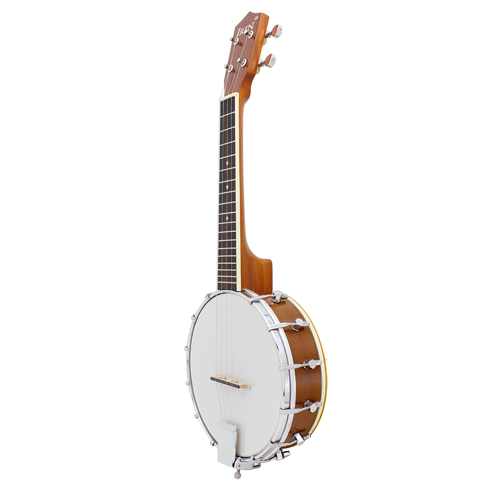 IRIN 23 inch Sapele Nylon 4 Strings Concert Banjo Uke Ukulele Bass Guitar Guitarra For Musical Stringed Instruments Lover Gift rotosound rs88ld black nylon flatwound bass strings