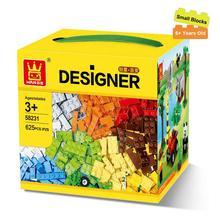 625Pcs Building Blocks City DIY Creative Bricks Toys For Child Educational Wange Building Model Making Material With Duplo