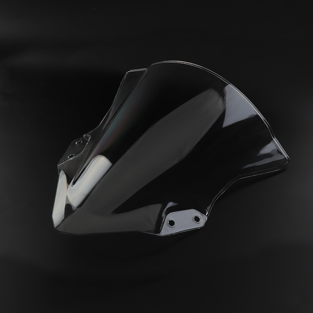 For Kawasaki Ninja 250 400 Ninja250 Ninja400 2018 Motorcycle Windshield Windscreen Deflector High Quality ABS Plastic ClearFor Kawasaki Ninja 250 400 Ninja250 Ninja400 2018 Motorcycle Windshield Windscreen Deflector High Quality ABS Plastic Clear
