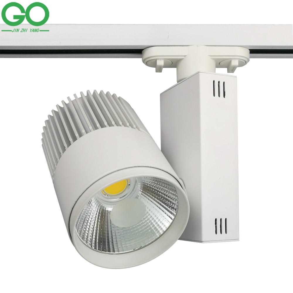 Kitchen Ceiling Track Lights: LED Track Light 30W COB Ceiling Rail Lights For Pendant