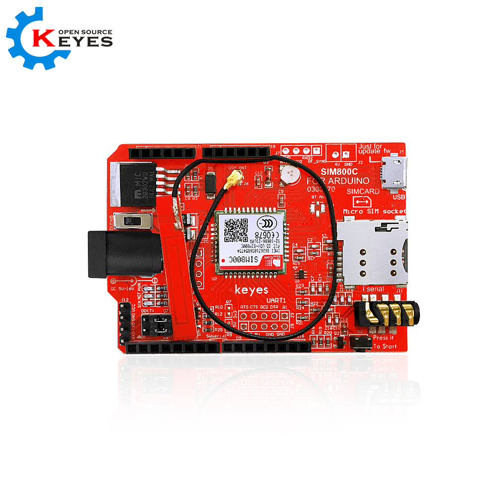 KEYES SIM800C GSM/GPRS Shield for Arduino plantronics backbeat pro 2 207110 05