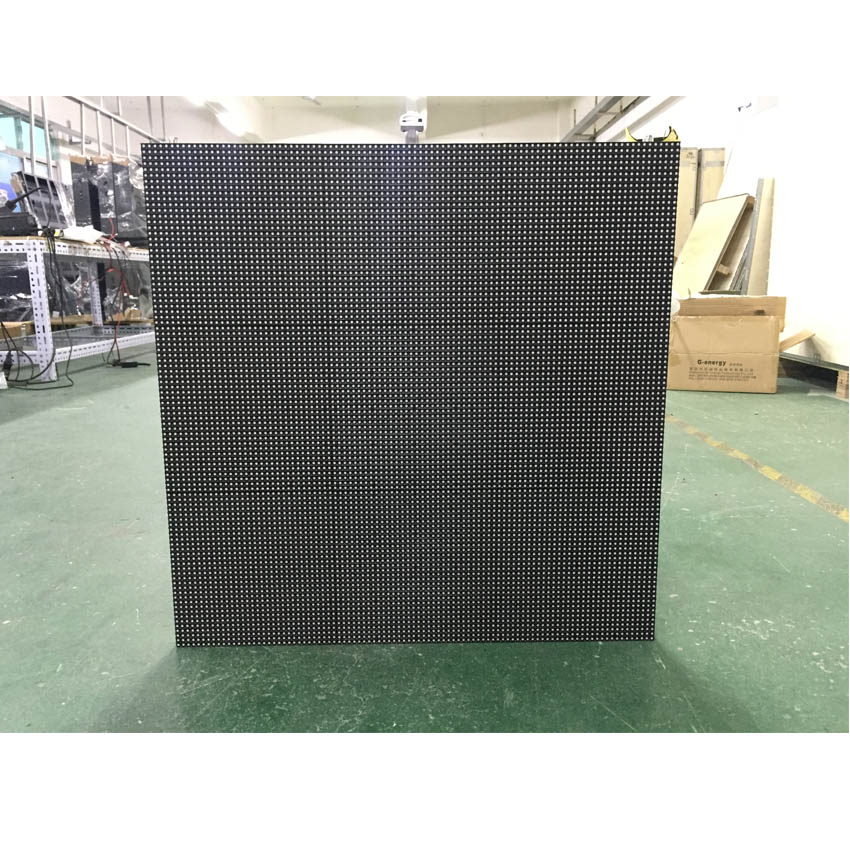 outdoor 512x512mm 128*128dots die casting aluminum cabinet P4 SMD1921 RGB waterproof led screen for full color led display