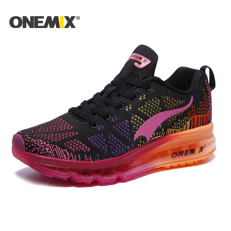 Onemix Brand Running Shoes mujer transpirable zapatos deportivos - Zapatillas