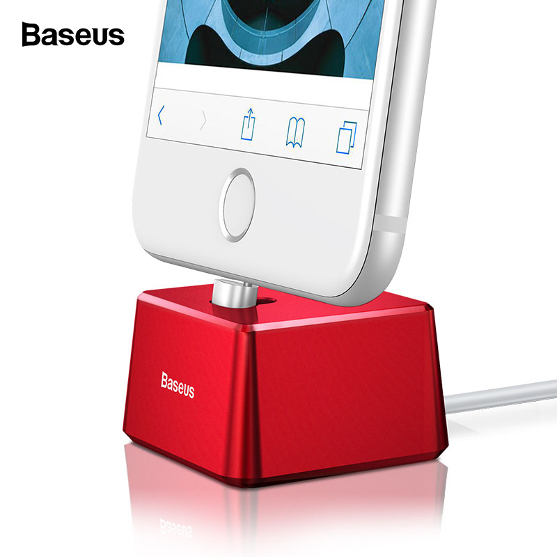 Aliexpress.com : Buy Baseus Portable Desktop Charger Holder For iPhone Xs Max Xr Charger Sync