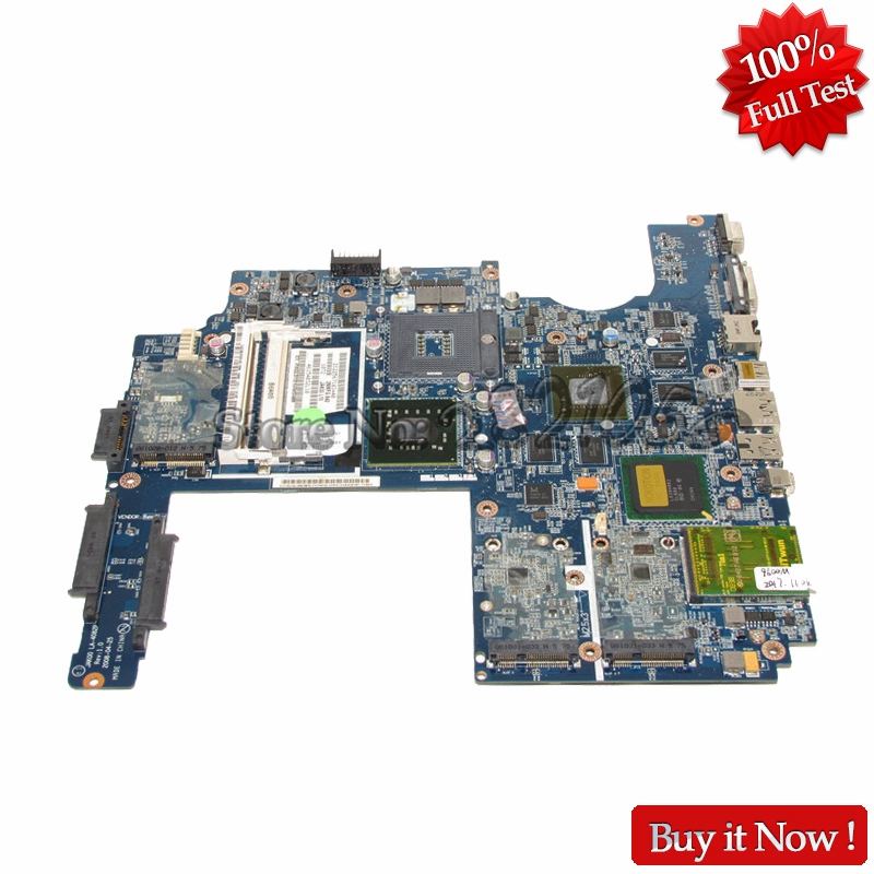 NOKOTION LA-4082P 480365-001 Mainboard For HP Pavilion DV7 DV7-1000 Laptop Motherboard PM45 DDR2 Free CPU nokotion 653087 001 laptop motherboard for hp pavilion g6 1000 series core i3 370m hm55 mainboard full tested