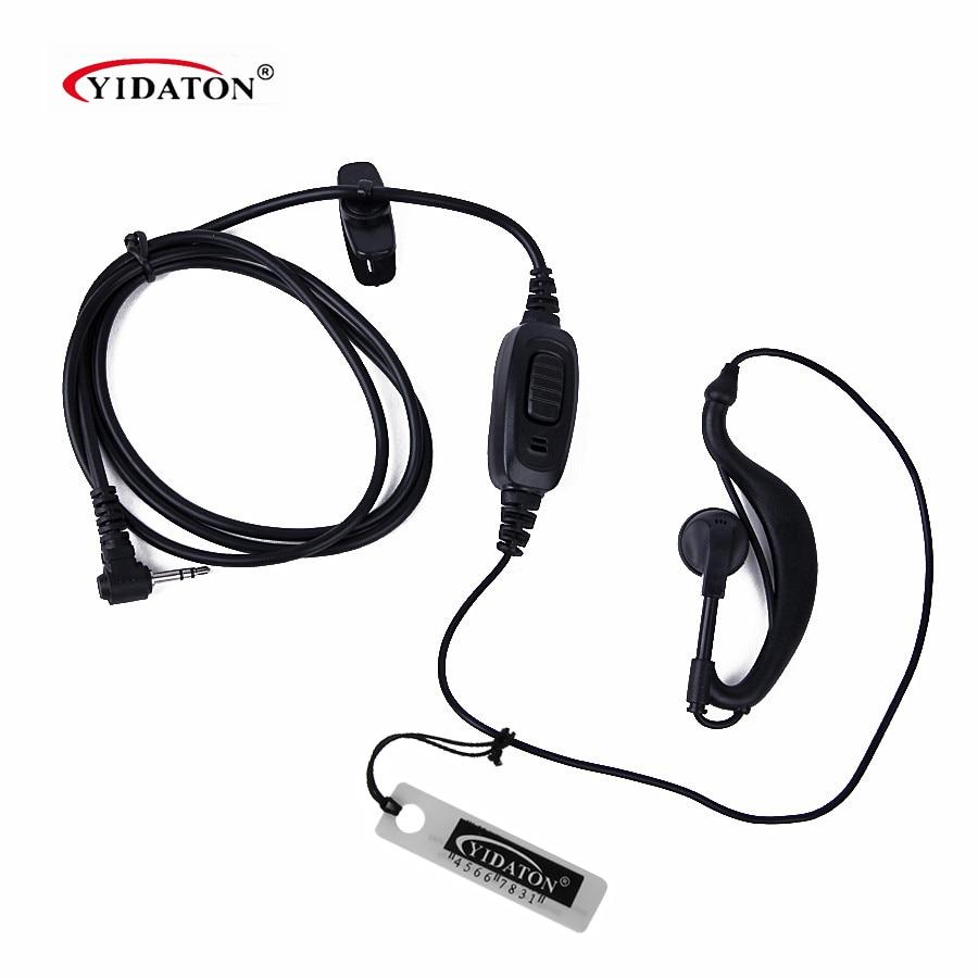 HYT TC-310 TC-320 Walkie Talkie Ear Hook Earphone Earpiece For T5428 T5720 TC-1600 TC-1688 Handy Two Way Radio Earpiece