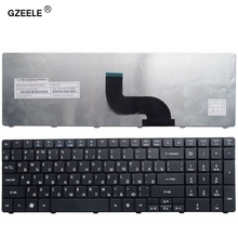 GZEELE russian Laptop Keyboard for Acer Aspire 7540 7540G 7551 7551G 7552 7552G 5749 5749Z  RU Version black notebook keyboard