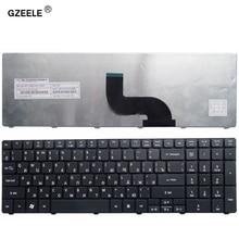 GZEELE teclado ruso para ordenador portátil Acer Aspire 7540, 7540G, 7551, 7551G, 7552, 7552G, 5749, 5749Z, versión RU, teclado negro para portátil
