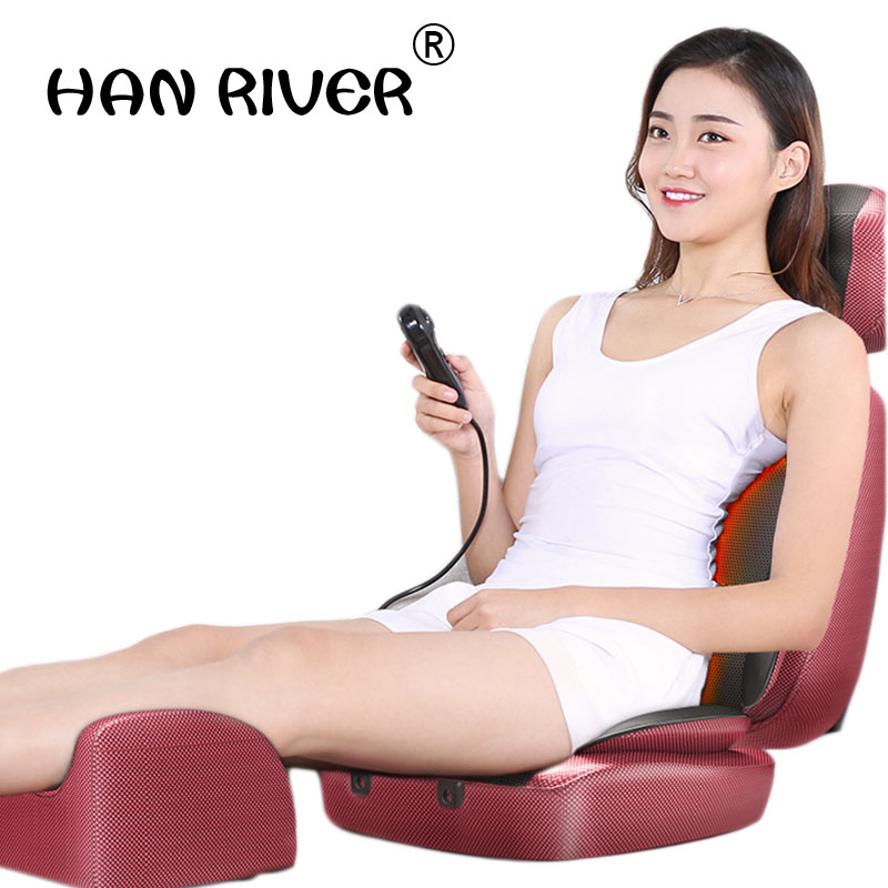 Cervical spine massager multi-function body vibration kneading chair cushion household massage pillow J2248Cervical spine massager multi-function body vibration kneading chair cushion household massage pillow J2248