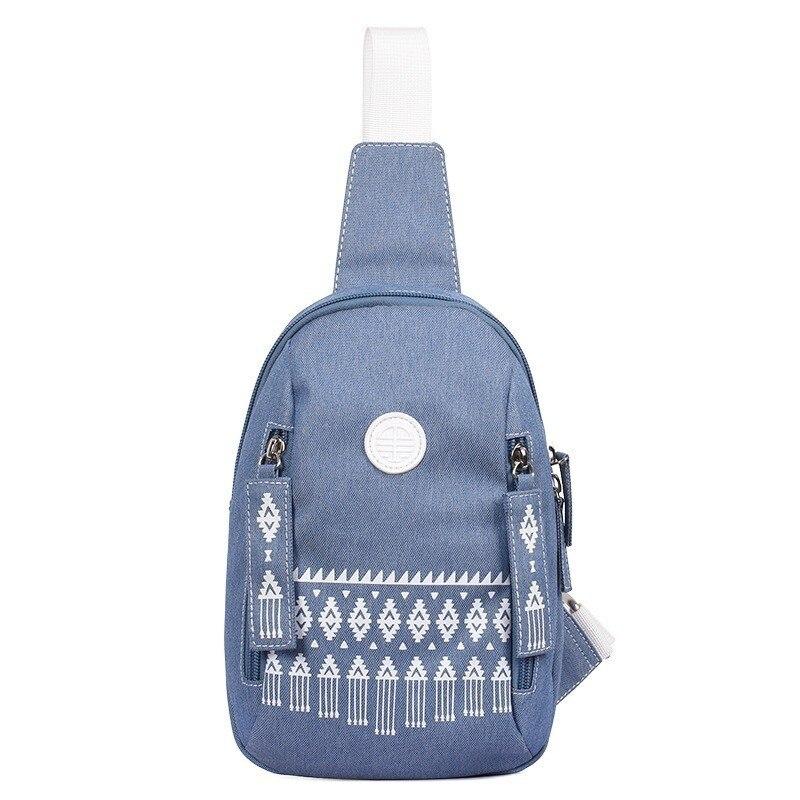 National Backpack Women Chest Shoulder Bagpack One Strap Sling Mochila Feminina Plecak For Teenage Girls Rucksack Travel Bags