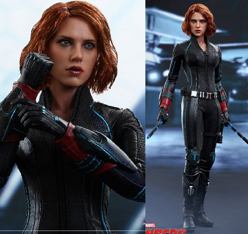"""1/6 scale Figure doll .12"""" action figures doll Avengers: Age of Ultron Black Widow Scarlett Johansson.Collectible model toy gift"""
