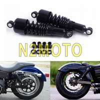 Retro 10.5 Heavy Duty Rear Shock Absorber 267mm Suspension for Harley Sportster Dyna Touring 1980 2017