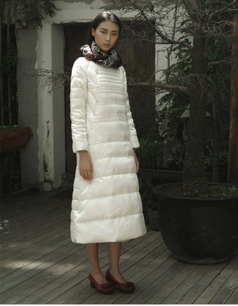 2016 new hot winter Cold Warm woman Down jacket Parkas Coat Outerwear Silk long Slim Luxury plus size Loose 90% White duck down