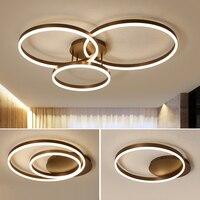 Chegada nova anéis Criativas luzes de teto modernas levaram para sala de estar bed room led lâmpada lâmpada do teto lamparas de techo luminárias