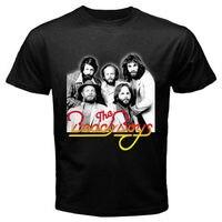 New THE BEACH BOYS Indie Rock Band Men S Black T Shirt Size S M L