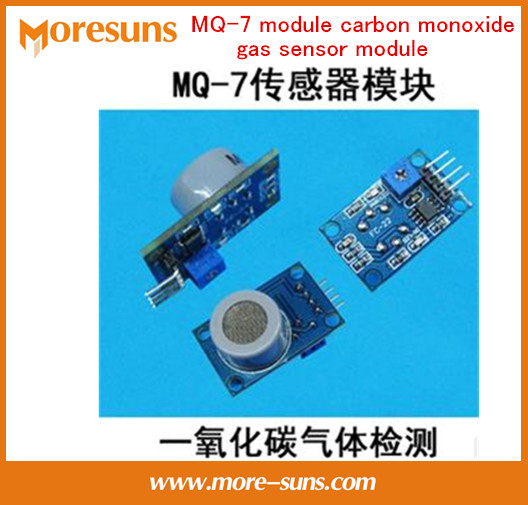 Fast Free Ship 10pcs/lot MQ-7 module carbon monoxide gas sensor module/detection alarm module