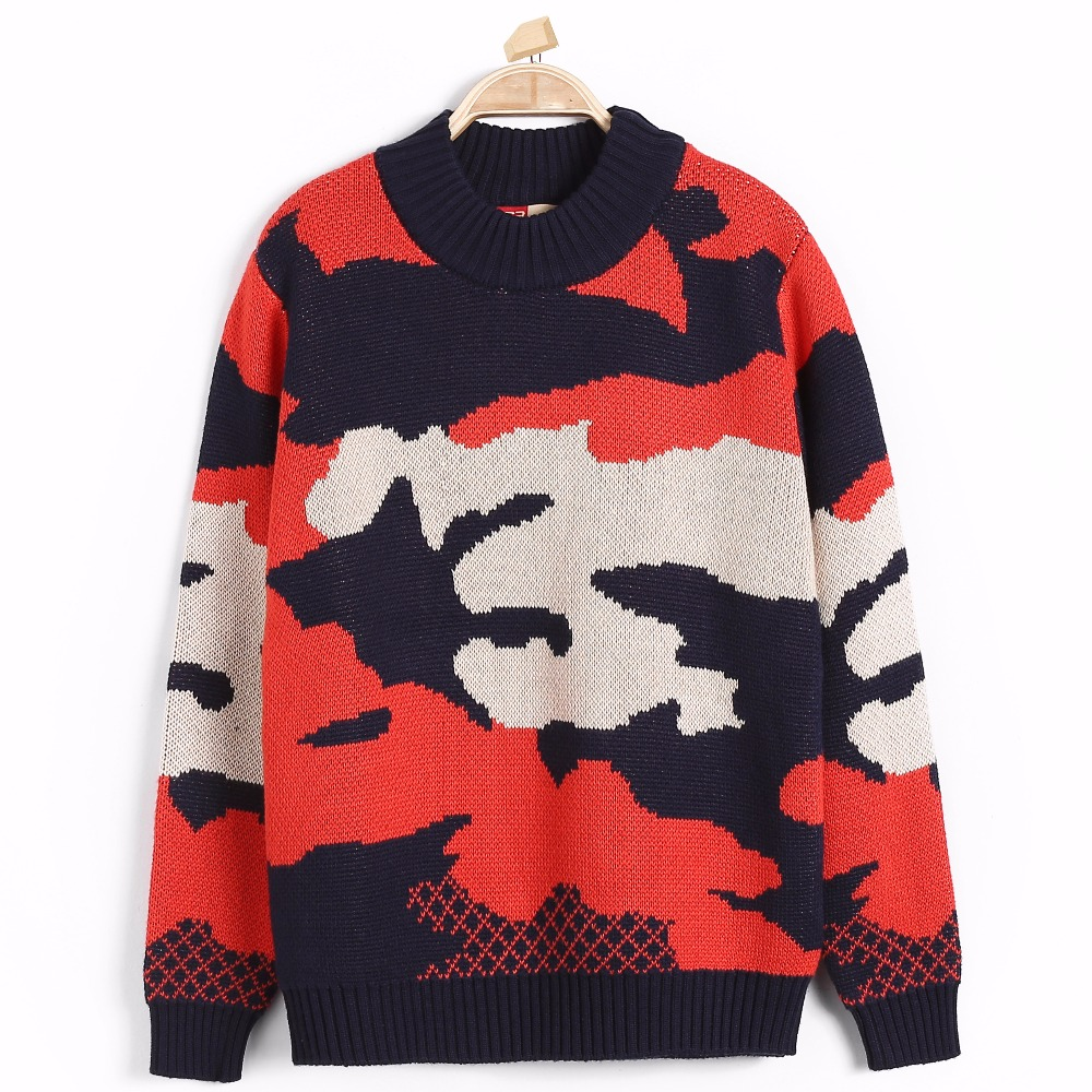 Boy Hot Knitted Winter Wear Sweater Autumn for Children Thermal Nimble Cotton Pullover Knitwear Warm Clothing Top School Casual
