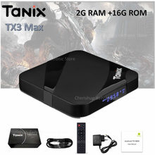 Tanix TX3 Max умный ТВ Box Android 7,1 телеприставки HDMI 2,0 H.265 4 К Media Player Amlogic S905W 2 ГБ 16 ГБ Bluetooth PK x96 мини(China)