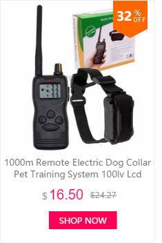 300 м перезаряжаемый и водонепроницаемый ошейник для собак тренировочный ошейник с подсветкой ЖК-дисплей H183DR 20 шт./партия