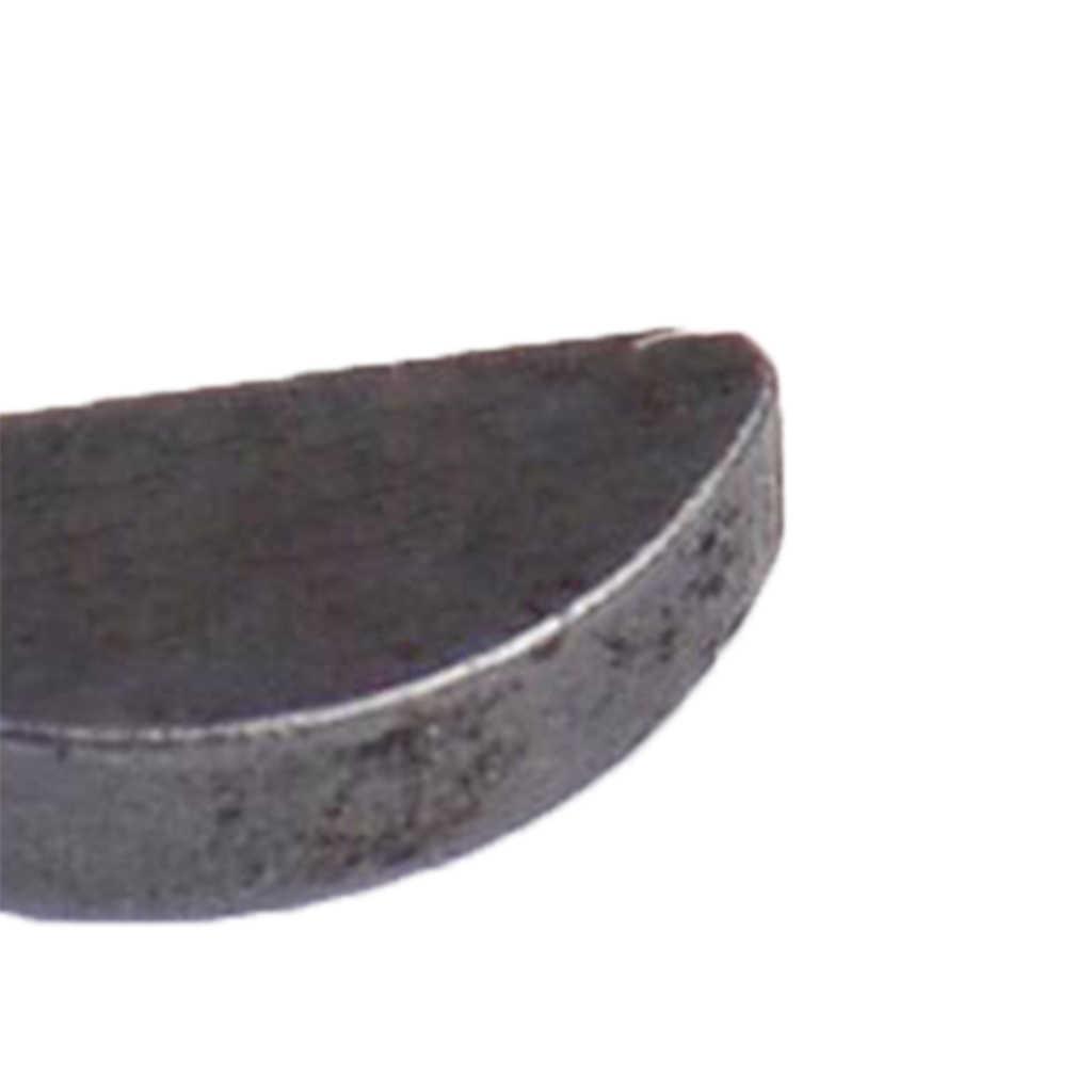 4X Metrik Woodruff Kunci Set 12.5 Mm X 3 Mm X 2.5 Mm (L. X W. X Tebal)