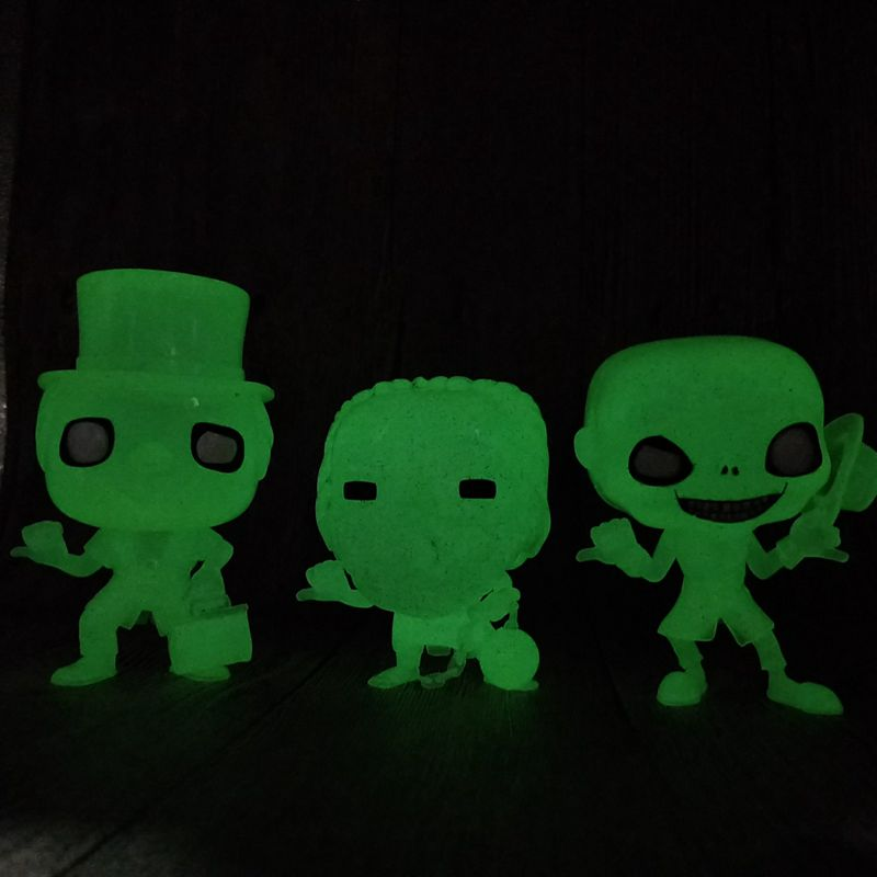 Glow in the Dark Exclusive Limted Edition Original Funko pop Crown Vinyl Action Figure Collectible Model Loose Toy No Box limited edition original funko pop dc universe green lantern the arrow vinyl figure collectible model toy with original box