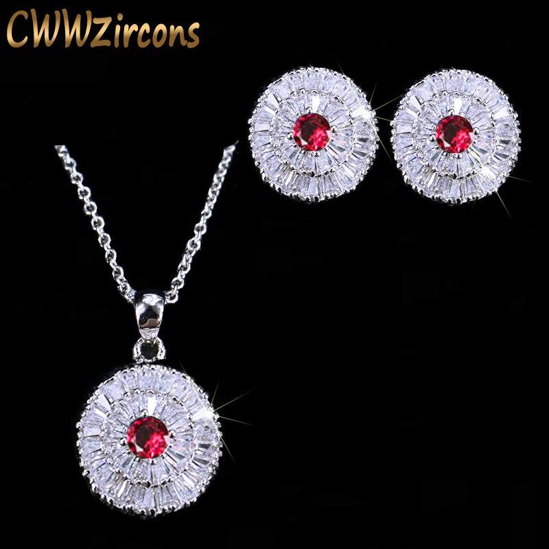 CWWZircons 2018 Modne ženske privjeske ogrlice i naušnice Nakit - Modni nakit - Foto 2