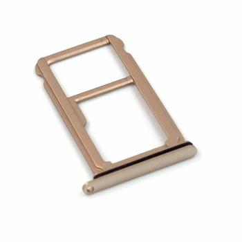 Telefony Części Zamienne do Huawei Mate 10 Dual Karty SIM Tacy i Micro SD Card tacy (Złoty) tanie i dobre opinie Czytniki kart sim backup for Huawei Mate 10