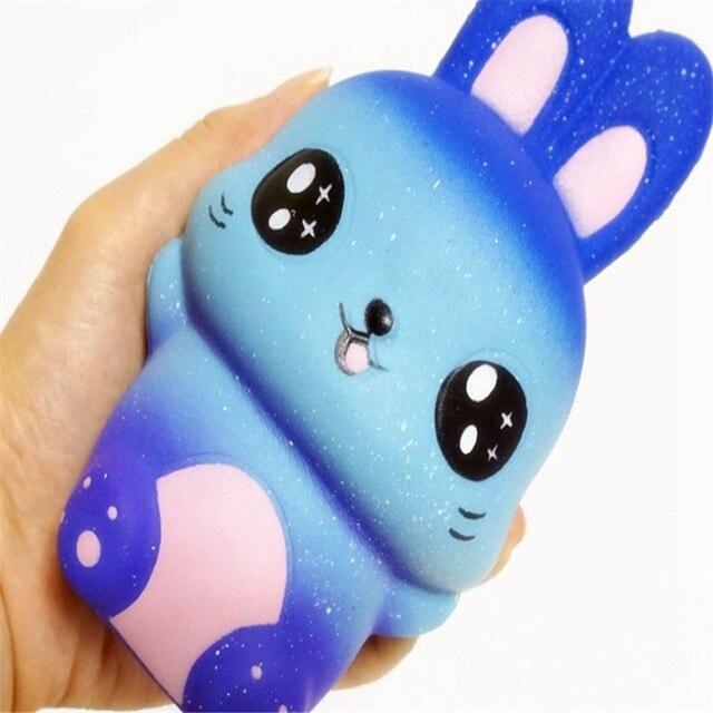 Мягкий Звездный милый кролик медленный рост игрушка-Антистресс игрушка squishпосылка Squash анти-стресс декомпрессия Squeeze Toys